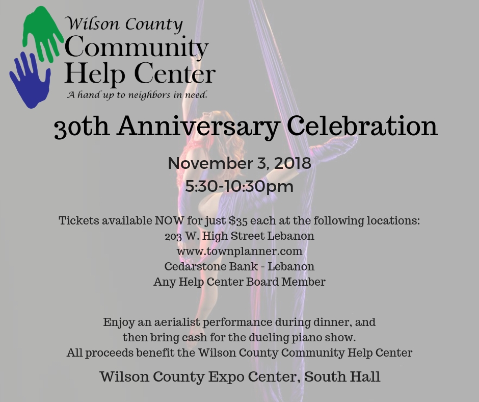 30th Anniversary Celebration at Wilson County Community Help Center