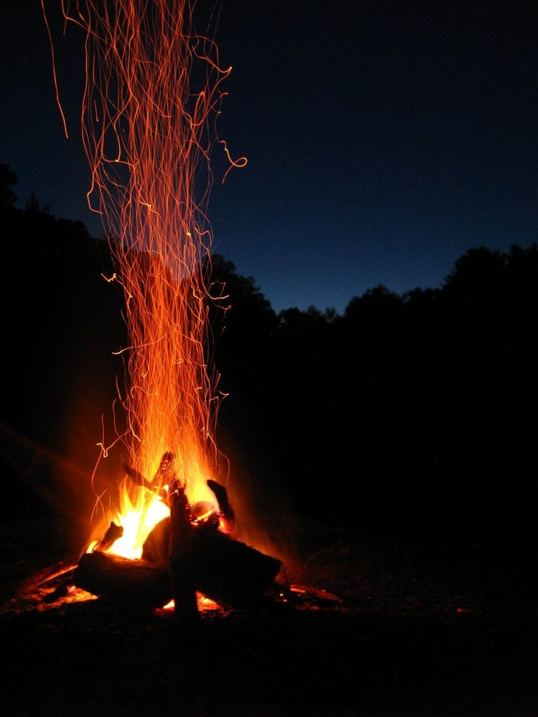 Night Under The Stars Bonfire & Cookout